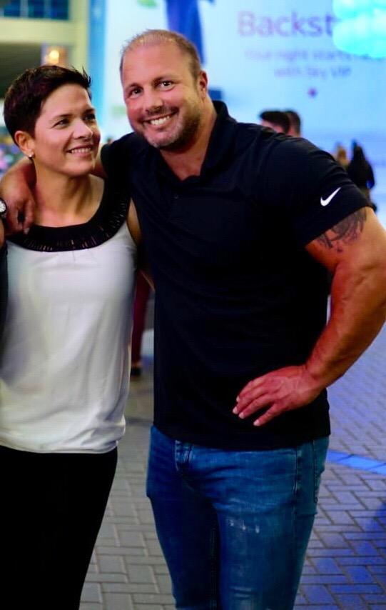 Christian Engel mit Frau Sonja